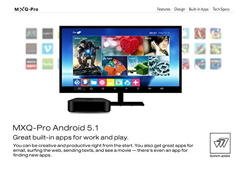 GHB Smart TV BOX Octa Core Android 5.1 4K