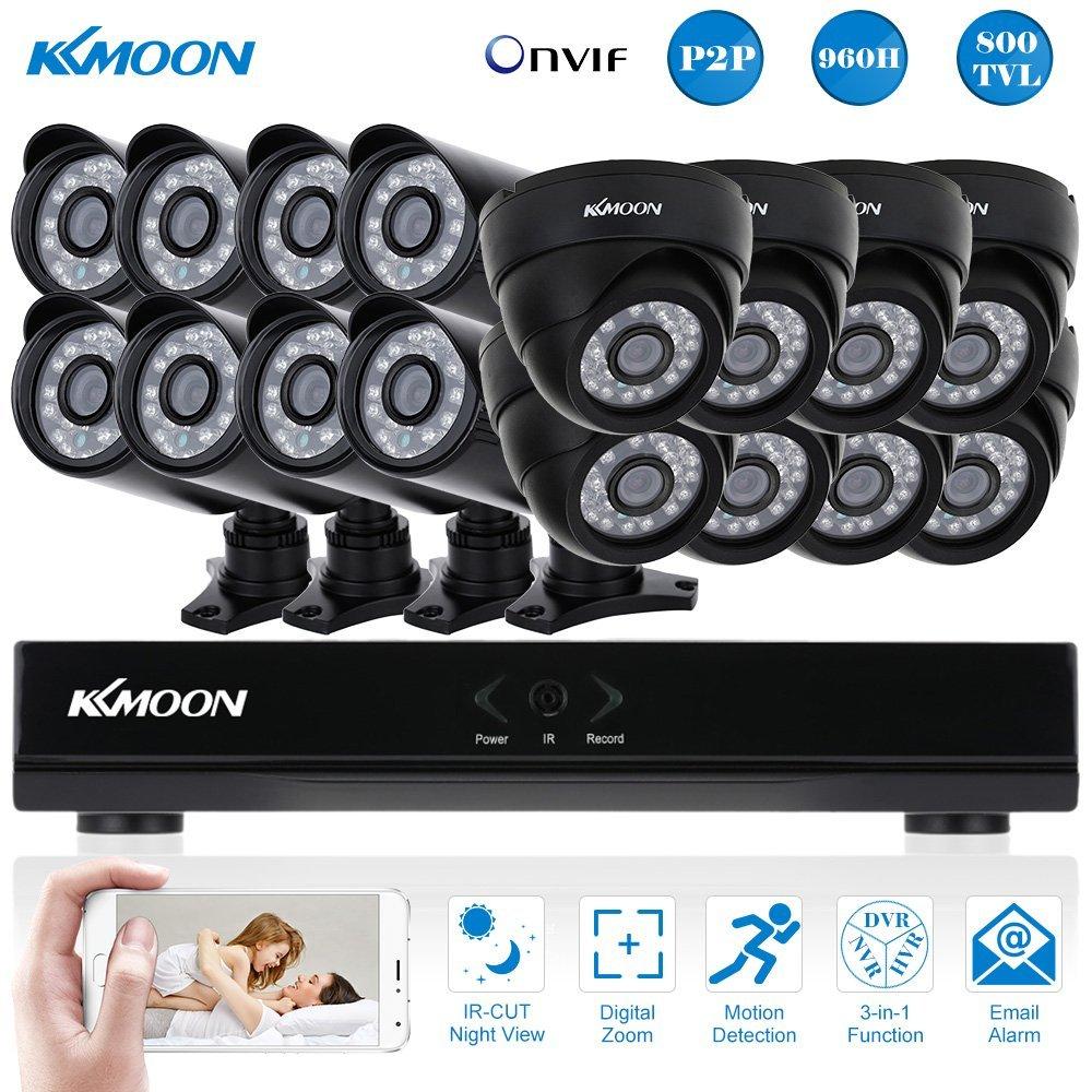 KKmoon Kit CCTV La mejor opción para video vigilancia