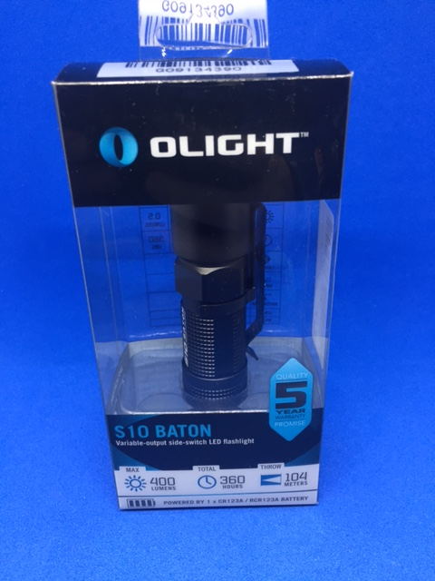 Olight® S10-L2 Baton linterna LED CREE XM-L2 400 lúmenes